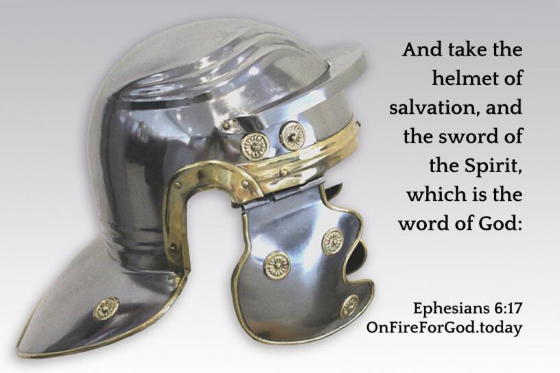 Ephesians 6:17 The Whole Armour of God