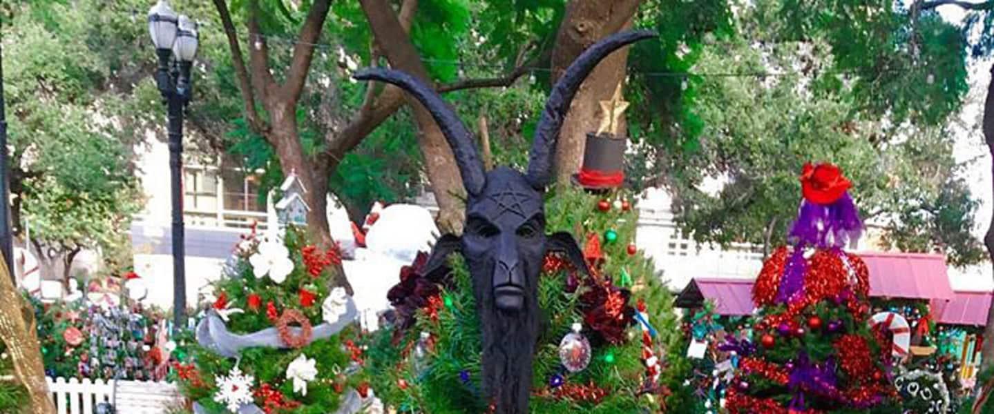 Satanic Christmas Tree