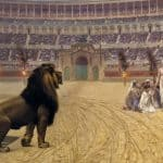 Christian Martyrs in the Lion's Den