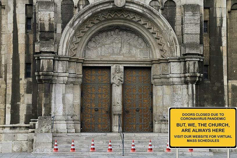 Church Closed COVID