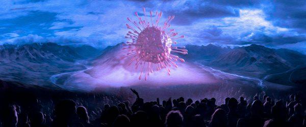 COVID-1984 Conspiracy Worship