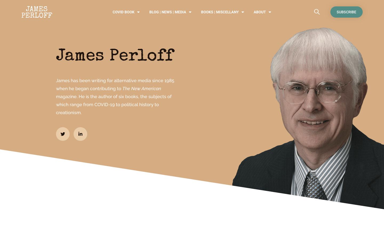 James Perloff Website Redesign-1