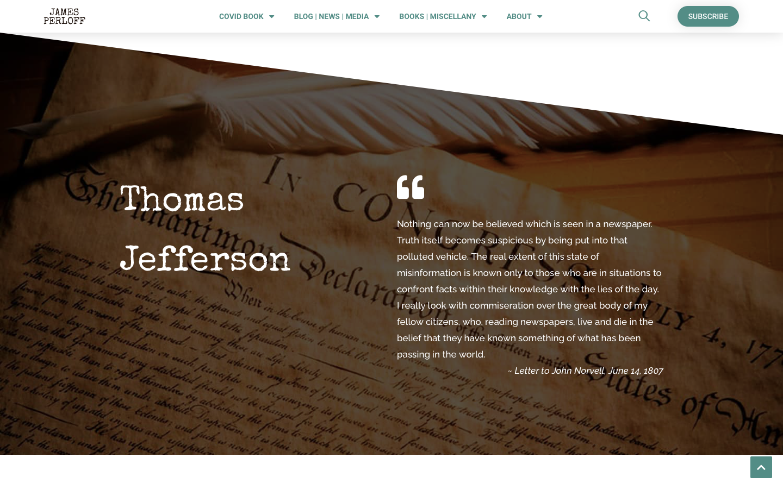 James Perloff Website Redesign-2a