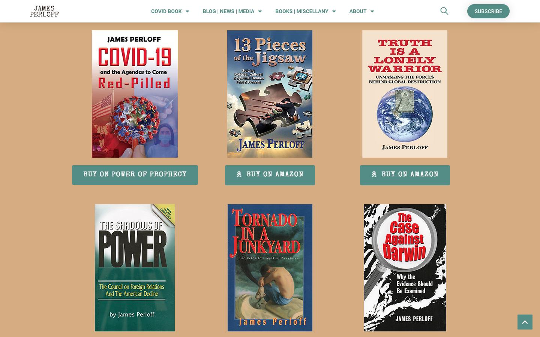 James Perloff Website Redesign-4
