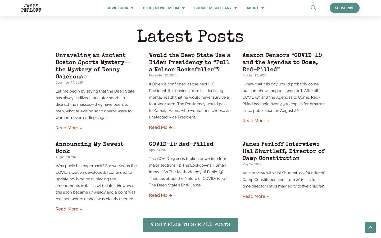 James Perloff Website Redesign-6