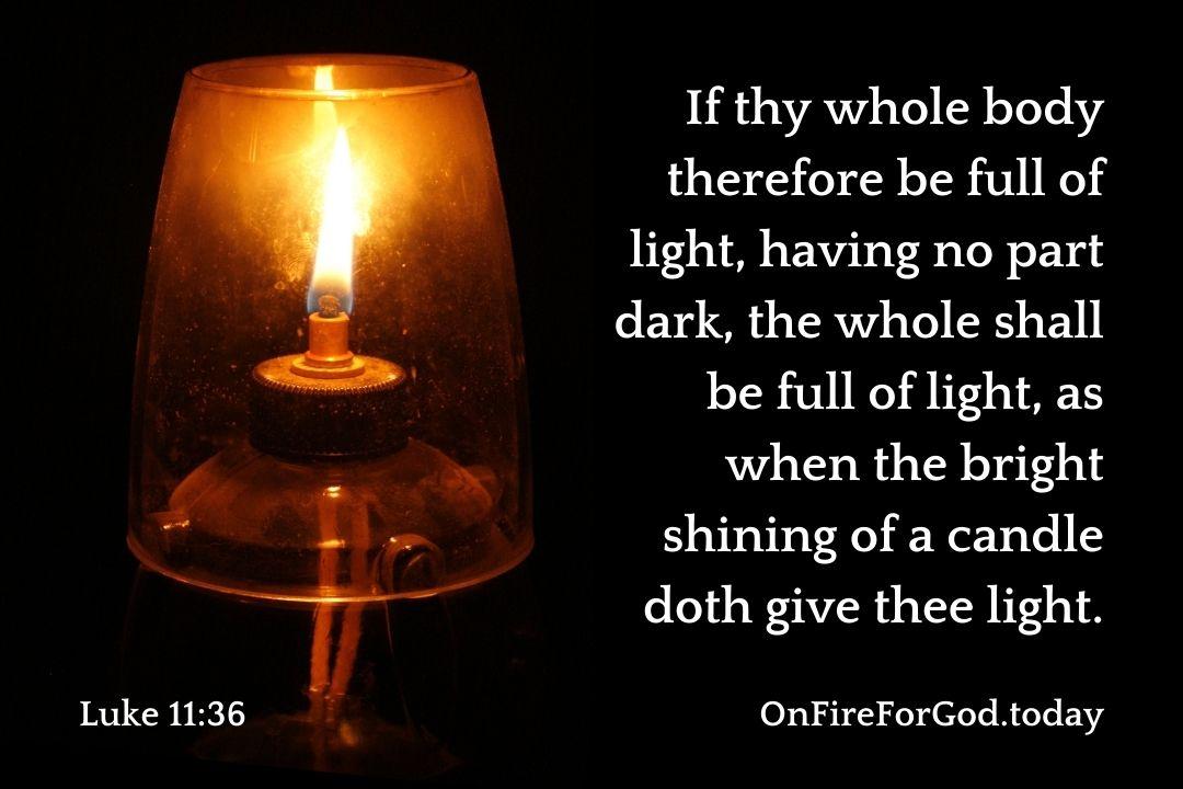 Luke 11:36