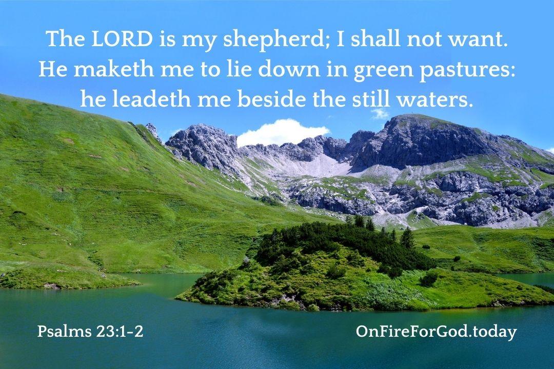 Psalms 23:1-2