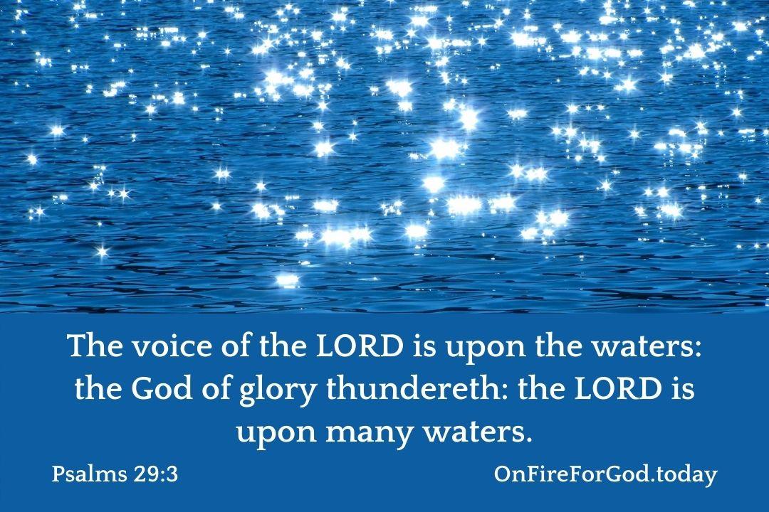 Psalms 29:3