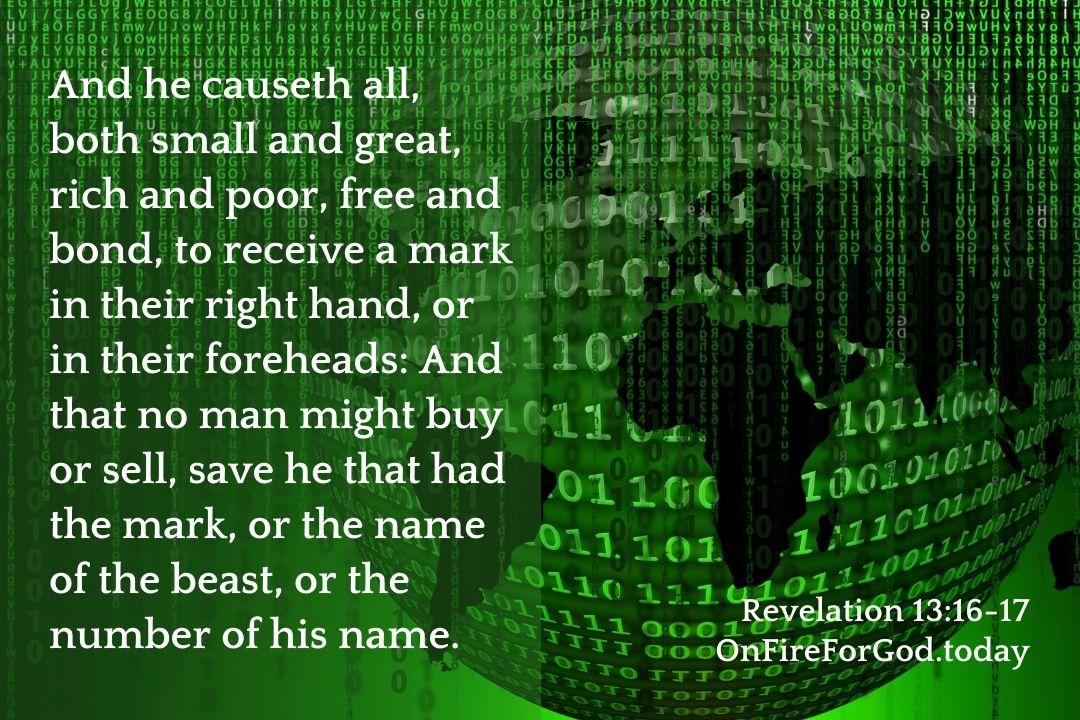Revelation 13:16-17