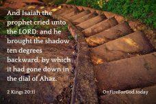 2 Kings 20:11