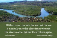 Ecclesiastes 1:7