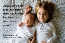 Ecclesiastes 4:11