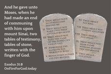 Exodus 31:8