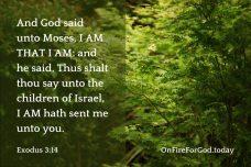 Exodus 3:14