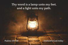 Psalms 119:105