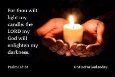 Psalms 18:28